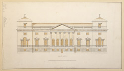 [Elevation of Holkham, Norfolk, the Seat of the Earl of Leicester]
